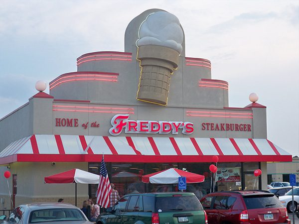 First Freddy's location
