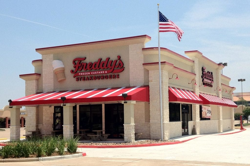 Freddy's is the Fastest Growing Restaurant Chain