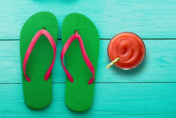 Sandals and Smoothie