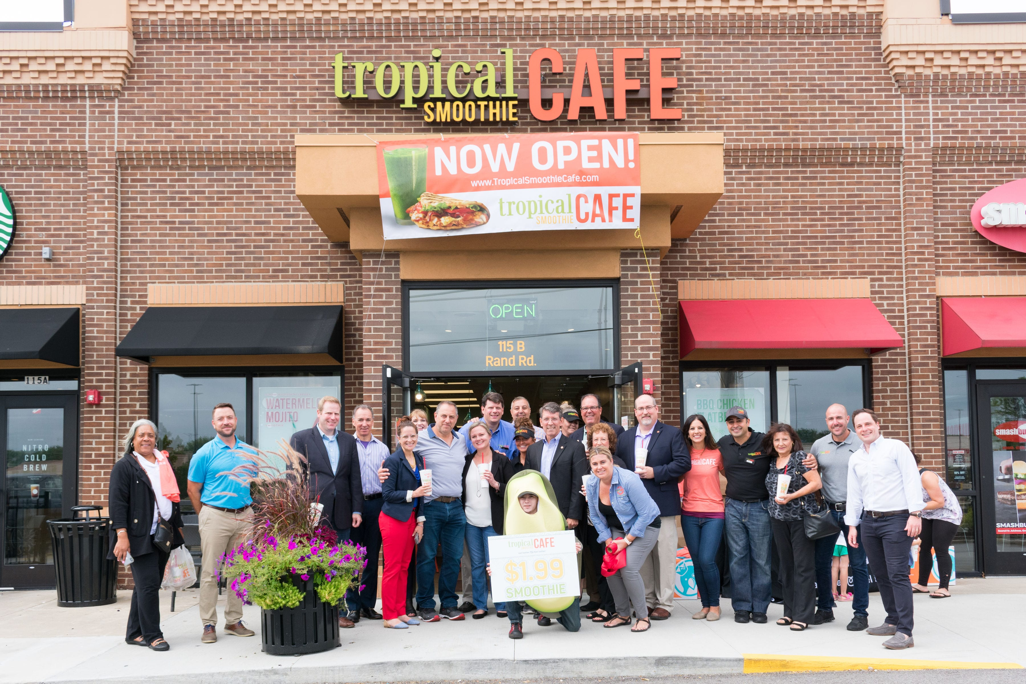 Tropical Smoothie Cafe 800th Grand opening