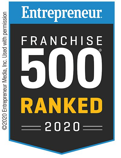 Entrepreneur Franchise 500 Ranked 2020 logo