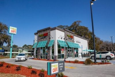 tropical smoothie cafe exterior building