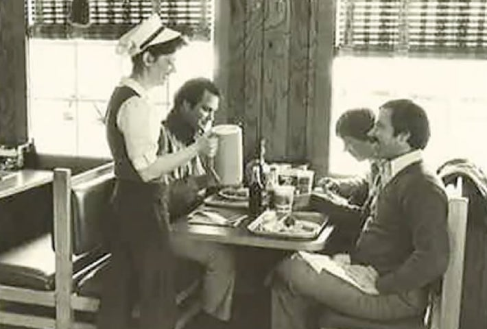 Captain D's customers in the 1970s