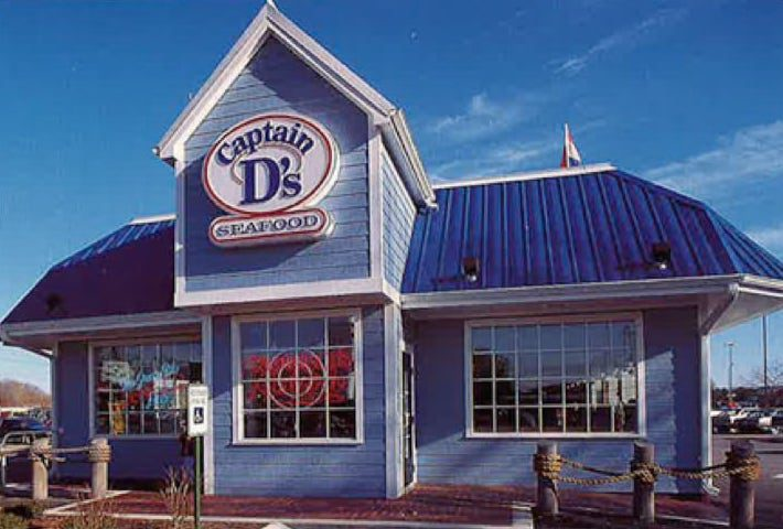 Captain D's Seafood franchise from the 1980s
